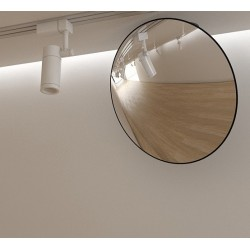 Internal round shop mirror