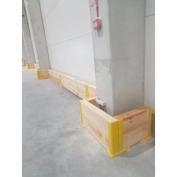 Double Steel-Timber Barrier